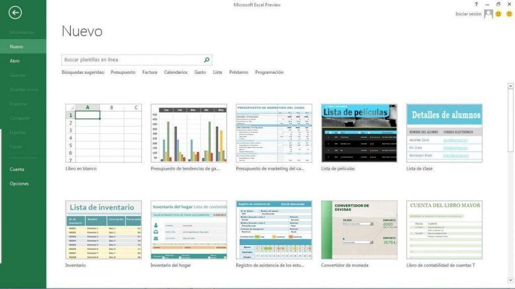 Excel 2013 novedades