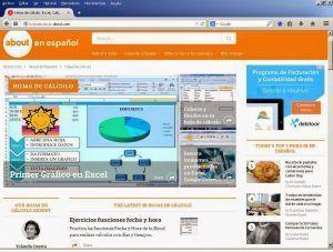 Hojas de calculo About.com en español