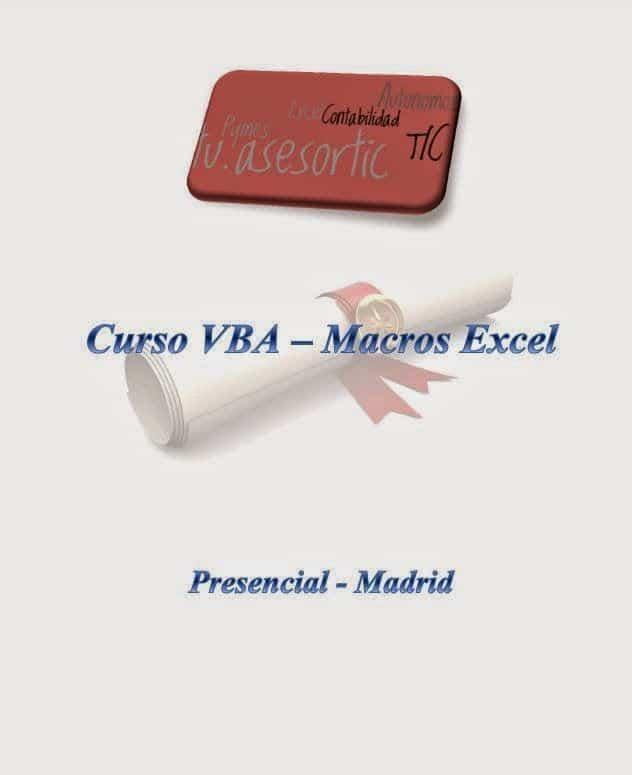 programar en Excel