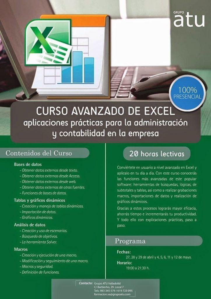 Curso Avanzado de Excel