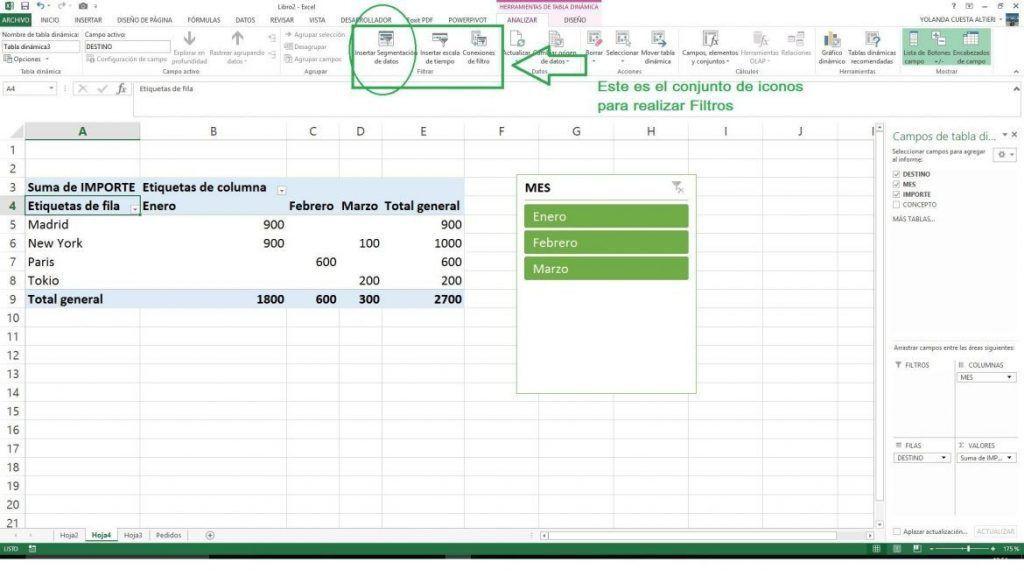 Excel 2016 trucos