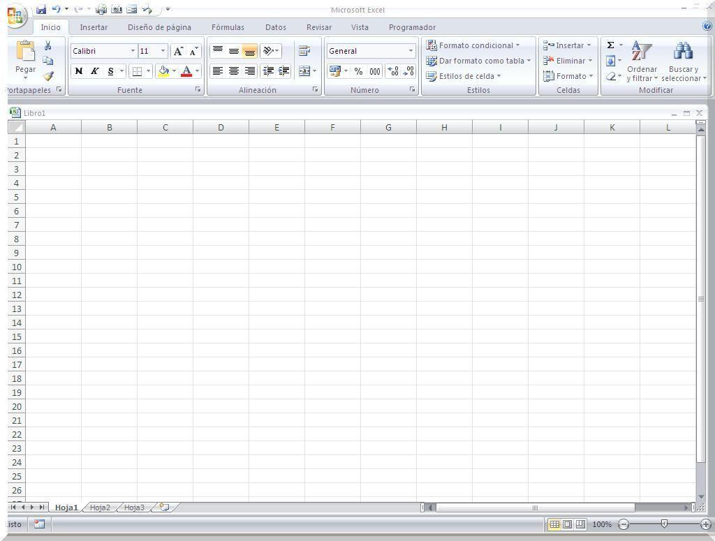 Excel básico introducción