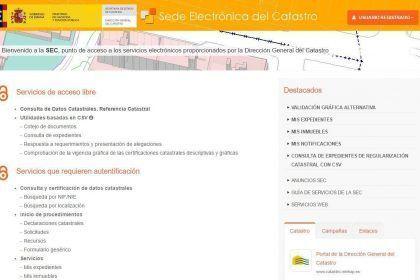 Sede Electronica del Catastro España