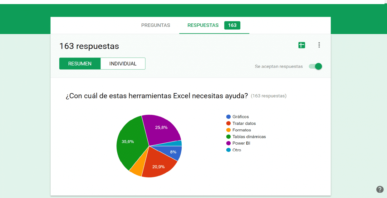 herramientas de Excel