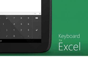 App Keyboard Excel