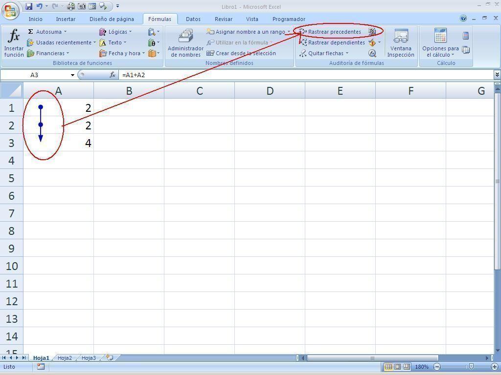 Auditoria de formulas Excel