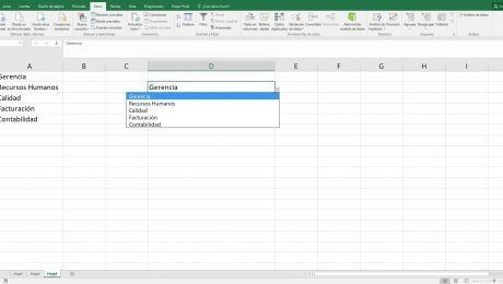Listas en Excel