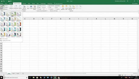 Insertar tema en Excel