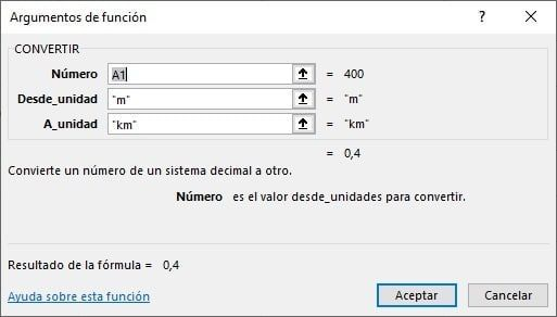 Convertir en Excel