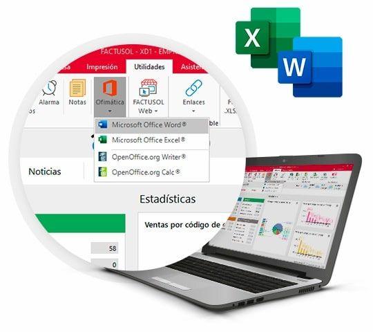 Facturar y descargar en Excel