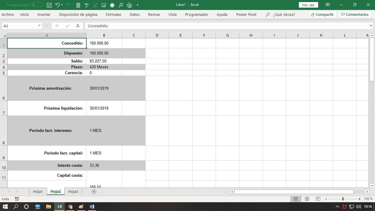 Pdf a Excel gratis
