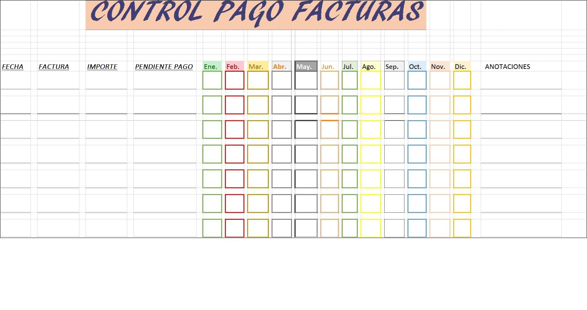 control-pago